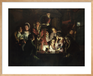 An Experiment on a Bird in the Air Pump by Joseph Wright Of Derby
