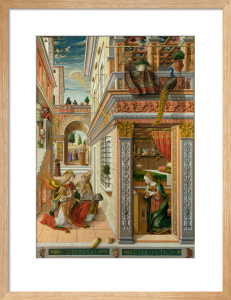 The Annunciation, with Saint Emidius by Carlo Crivelli