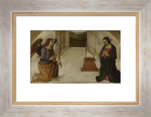 The Annunciation by Giannicola di Paolo