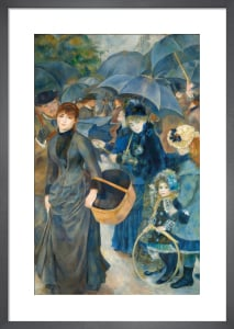 The Umbrellas by Pierre Auguste Renoir