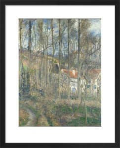 The Cote des Boeufs at L'Hermitage by Camille Pissarro