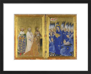 The Wilton Diptych by Unknown artist