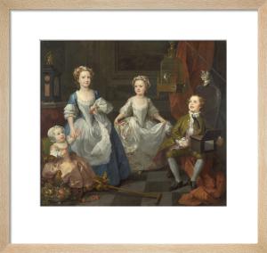 The Graham Children by William Hogarth