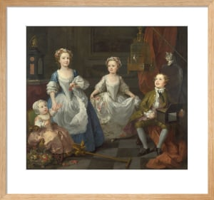 The Graham Children by William Hogarth