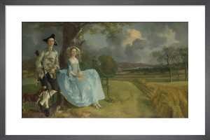 Mr and Mrs Andrews by Thomas Gainsborough
