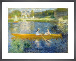 The Skiff by Pierre Auguste Renoir
