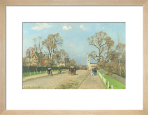 The Avenue, Sydenham by Camille Pissarro