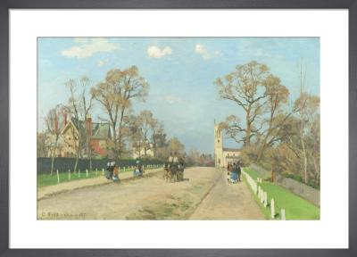 The Avenue, Sydenham by Camille Pissarro
