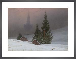 Winter Landscape by Caspar David Friedrich