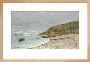 La Pointe de la Heve, Sainte-Adresse by Claude Monet