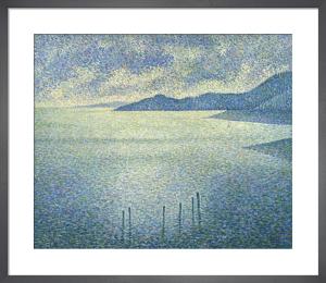 Coastal Scene by Theophile van Rysselberghe