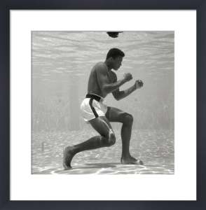 Muhammad Ali - Underwater by Anonymous