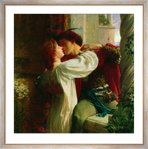 Romeo and Juliet, 1884 by Sir Frank Dicksee