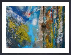 Aegean Brushstrokes VI by Tony Koukos