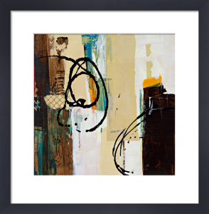 Abstract Collage III by Marilyn Bridges