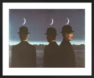 Le chef-d'oeuvre ou le mystere de l'horizon by Rene Magritte