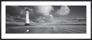 Perch Rock Lighthouse, New Brighton, Merseyside by Ed Rhodes