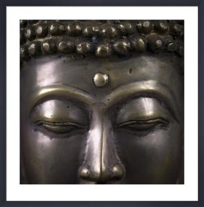 Buddha Close-up by Assaf Frank