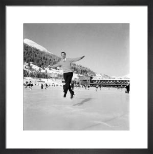 Ice skating, 1953 by Mirrorpix