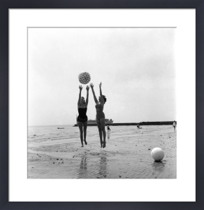 Clacton Beach, 1960 by Mirrorpix