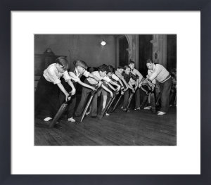 Cricket coaching, 1953 by Mirrorpix