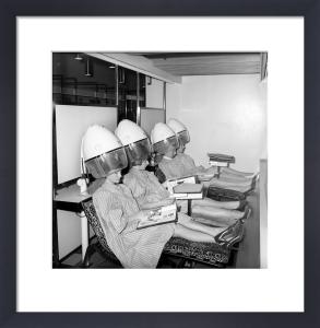 John London hair salon, 1960 by Mirrorpix