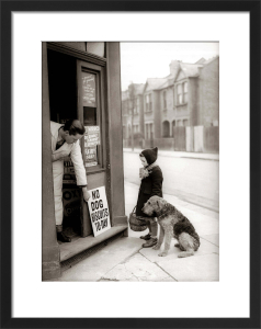 Corner shop, 1942 by Mirrorpix
