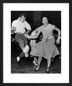 Rock n Roll dancing, London Lyceum 1950s by Mirrorpix