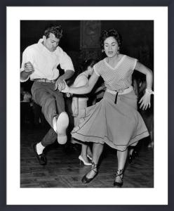 Rock n Roll dancing, London Lyceum 1950s by Mirrorpix
