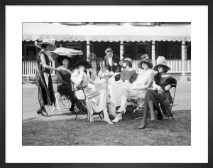 Ascot fashions, 1921 by Mirrorpix