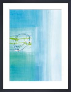 Untitled, 2003 (blue) by Susanne Stahli