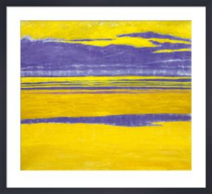Marine jaune et mauve, 1923 by Léon Spilliaert