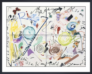 Salu Richard, 1988 by Jean Tinguely