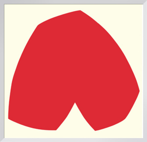 Red White* by Ellsworth Kelly