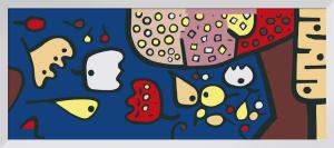 Fruchte auf Blau 1938 by Paul Klee