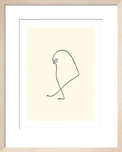Le moineau, 1907 by Pablo Picasso