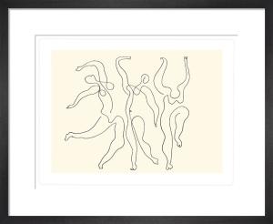 Trois danseuses, 1924 by Pablo Picasso