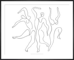 Etude pour Mercure 1924 by Pablo Picasso