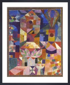 Burggaten, 1919 by Paul Klee