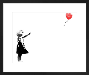 Heart Balloon by Street Art