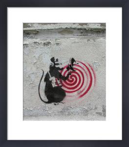 Rat Radar by Street Art