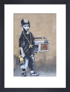 Ghetto Boy by Street Art