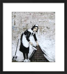 Chamber Maid by Street Art