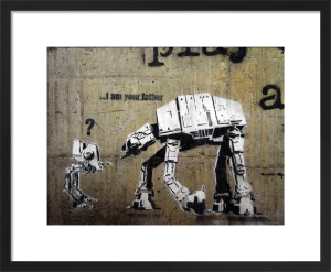 I'm not your Father - Star Wars Graffiti by Street Art