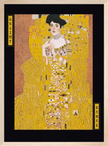 Portrait of Adele Bloch by Gustav Klimt