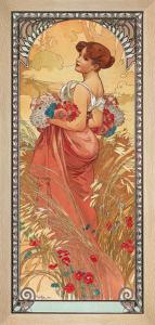 Eté 1900 by Alphonse Mucha