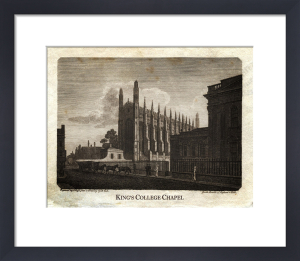 Cambridge - King's College Chapel by National Railway Museum