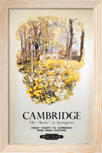 Cambridge - The 'Backs' in Springtime by National Railway Museum