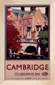Cambridge - Punting by National Railway Museum