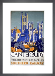 Canterbury - Frequent Trains and Cheap Fares by National Railway Museum
